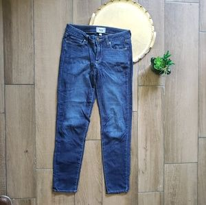 Paige verdugo ankle skinny blue jeans 27 in